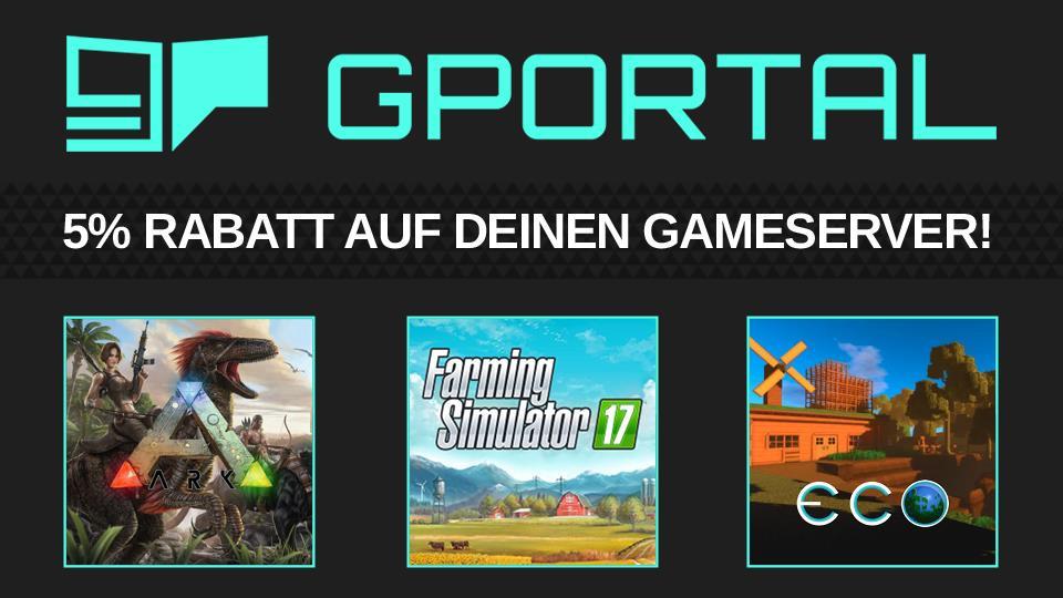 Hol dir deinen Game-Server bei unserem Partner G-Portal.com durch!! (Gadarol.de getestet)
